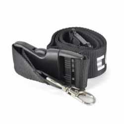 Safety Deluxe Polyester lanyard - safety break & plastic buckle - 900 mm