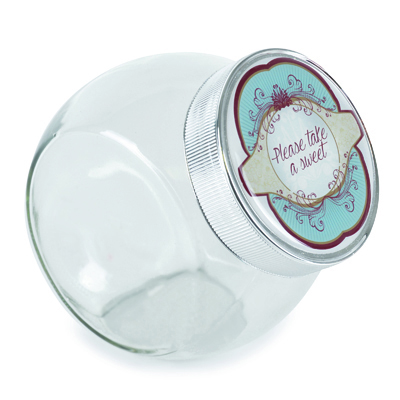 Medium Side Glass Jar
